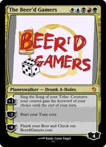 The Beerd Gamers walker